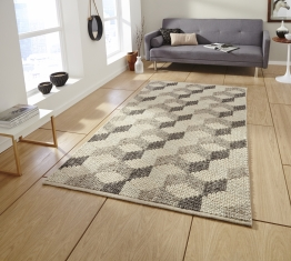 Alpha Al44 Natural Textured Hand Knotted Rug - 100% Wool