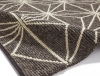 Alpha Al73 Brown Textured Hand Knotted Rug - 100% Wool