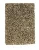 Amazon Am 10 Beige Shaggy Hand Tufted Rug - 60% Viscose 40% Wool