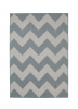 Cottage Ct5191 Blue Flatweave Machine Made Rug - 100% Polypropylene