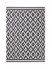Cottage Ct5581 Wool/black Flatweave Machine Made Rug - 100% Polypropylene