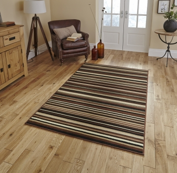Diamond 220a Brown Budget Machine Made Rug - 100% Polypropylene