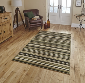 Diamond 220a Light Green Budget Machine Made Rug - 100% Polypropylene