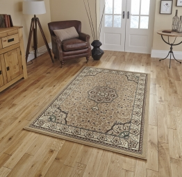 Diamond 4400 Beige Budget Machine Made Rug - 100% Polypropylene