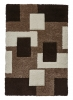 Fashion 7646 Beige Modern Machine Made Rug - 100% Polypropylene