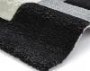 Fashion 7646 Grey Modern Machine Made Rug - 100% Polypropylene