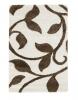 Fashion 7647 Ivory/beige Modern Machine Made Rug - 100% Polypropylene
