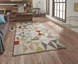 Fiona Howard Harlequin Fh02 Designer Hand Tufted Rug - 50% Viscose 50% Wool