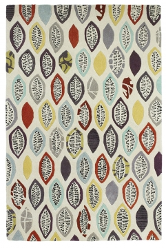 Fiona Howard Windfall Fh03 Designer Hand Tufted Rug - 50% Viscose 50% Wool