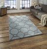 Hong Kong 4338 Blue/grey Modern Hand Tufted Rug - 100% Acrylic