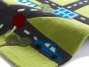 Hong Kong 5179 Green Kids Hand Tufted Rug - 100% Acrylic