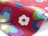 Hong Kong 5234 Pink Kids Hand Tufted Rug - 100% Acrylic