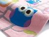 Hong Kong 5648 Pink Kids Hand Tufted Rug - 100% Acrylic