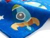 Hong Kong 6149 Blue Kids Hand Tufted Rug - 100% Acrylic