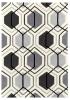Hong Kong 7526 Grey Modern Hand Tufted Rug - 100% Acrylic