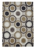 Hong Kong 9646 Beige/yellow Modern Hand Tufted Rug - 100% Acrylic