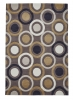 Hong Kong 9646 Light Brown/yellow Modern Hand Tufted Rug - 100% Acrylic