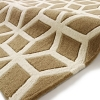 Hong Kong Hk 326 Beige/cream Modern Hand Tufted Rug - 100% Acrylic