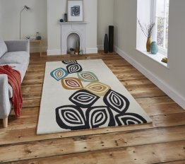Inaluxe Colour Fall Ix05 Designer Hand Tufted Rug - 100% Wool
