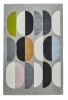 Inaluxe Composition Ix06 Designer Hand Tufted Rug - 100% Wool