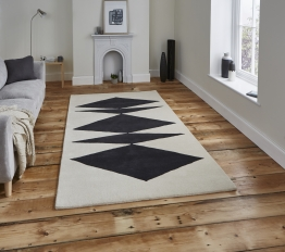 Inaluxe Crystal Palace Ix07 Designer Hand Tufted Rug - 100% Wool