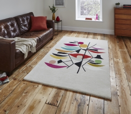 Inaluxe Shipping News Ix10 Designer Hand Tufted Rug - 100% Wool
