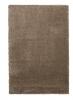 Loft 01810a Light Brown Shaggy Machine Made Rug - 100% Polypropylene