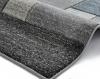 Matrix A0221 Grey/blue Floral Machine Made Rug - 100% Polypropylene