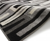 Matrix Fr 40 Black/grey Modern Machine Made Rug - 100% Polypropylene