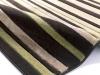 Matrix Mt22 Brown/green Modern Machine Made Rug - 100% Polypropylene