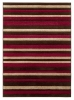 Matrix Mt22 Brown/red Modern Machine Made Rug - 100% Polypropylene