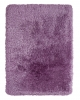 Montana Lilac Shaggy Hand Tufted Rug - 75% Acrylic, 25% Polyester
