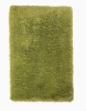 Monte Carlo Green Shaggy Hand Tufted Rug - 60% Acrylic, 40% Viscose