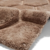 Noble House Nh30782 Beige Shaggy Hand Tufted Rug - 70% Acrylic 30% Polyester