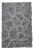 Noble House Nh5858 Silver Shaggy Hand Tufted Rug - 70% Acrylic 30% Polyester
