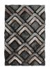 Noble House Nh8199 Grey Shaggy Hand Tufted Rug - 70% Acrylic 30% Polyester