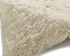 Polar Pl 95 Cream Shaggy Hand Tufted Rug - 100% Micro Fibre Acrylic