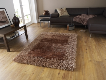 Sable 2 Beige Shaggy Hand Tufted Rug - 100% Viscose