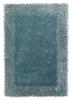 Sable 2 Light Blue Shaggy Hand Tufted Rug - 100% Viscose