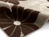 Verona Oc15 Beige/brown Floral Machine Made Rug - 100% Polypropylene