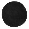 Vista 2236 Black Circle Shaggy Machine Made Rug - 100% Polypropylene
