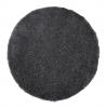 Vista 2236 Dark Grey Circle Shaggy Machine Made Rug - 100% Polypropylene