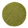 Vista 2236 Green Circle Shaggy Machine Made Rug - 100% Polypropylene