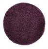Vista 2236 Purple Circle Shaggy Machine Made Rug - 100% Polypropylene