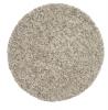 Vista 4803 Cream Circle Shaggy Machine Made Rug - 100% Polypropylene